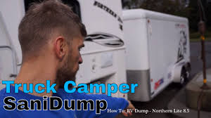 How To: Truck Camper SaniDump
