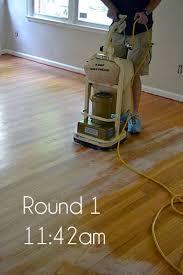 Varathane Floor Sander Machine by Best 25 Refinishing Wood Floors Ideas On Pinterest Diy Projects
