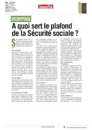 plafond horaire securite sociale calaméo a quoi sert le plafond de la sécurité sociale