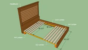 Diy Queen Loft Bed by Queen Bed Frame Plans Bed Plans Diy U0026 Blueprints