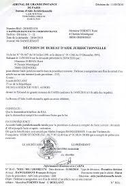 bureau d aide juridictionnelle juges mafieux citation suite escroqueries en bandes organisees
