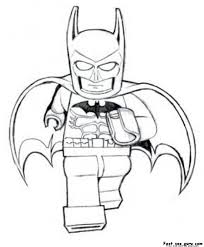 Amazing Lego Batman Coloring Pages 49 For Print With