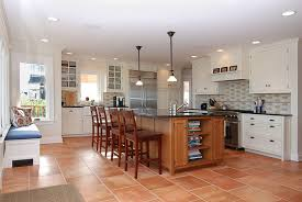 Fabulous Beach Style Kitchen With A Touch Of Coziness Design Baskam Construction Services