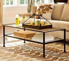 Fascinating Pottery Barn Glass Coffee Table Ideas
