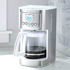 Cuisinart K Cup Coffee Maker Plus Programmable White Rice Size