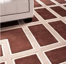 wunderschöner luxus teppich aus 100 neuseeland wolle mit mäander muster braun creme samtweich 300 x 400 cm hochwertige qualität