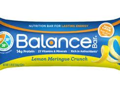 Balance Bars Bar Lemon Meringue Crunch Gold Review