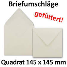 Briefumschläge Quadratisch 145 X 145 Mm 145 X 145 Cm Hellcreme