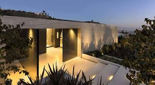 100 Sunset Plaza House Sleek And Sexy Modern Hillside Home Above LA
