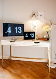 Regolit Floor Lamp Hack by 20 Gorgeous Ikea Hacks You Can Make With A Can Of Gold Spray Paint
