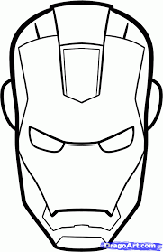 How To Draw Iron Man Easy Step By Marvel Characters