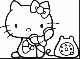 Random Related Image Of Magnificent Coloring Pages For Kids Hello Kitty Printable With Free