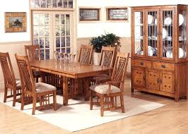 Great Round Mission Style Dining Table About Craftsman With Remodel