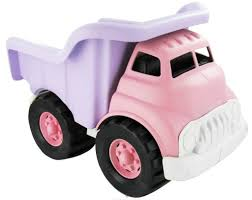 Dump Truck Pink Green Toys - FUNdamentally Toys