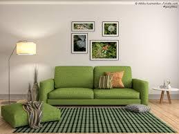grüne tapete wohnzimmer design