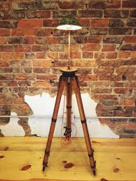 Surveyor Style Floor Lamps by The 25 Best Wooden Tripod Floor Lamp Ideas On Pinterest