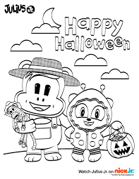 Mickey Mouse Halloween Coloring Pictures by Homely Ideas Nick Jr Halloween Coloring Pages Christmas Mickey