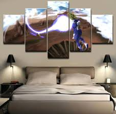 Dragon Ball Z Decorations by Wall Decor Paintings U2013 Alternatux Com