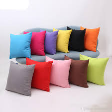 24 X 24 Patio Cushion Covers by New Arrival Simple Fashion Suede Nap Cushion Cover Candy Colored