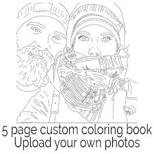 Color Me Book A Custom Coloring Made From Your Favorite