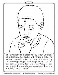 Good Lent Coloring Pages 11 On For Kids Online With