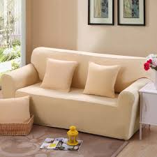 Living Room Seats Covers by Aliexpress Com Buy Solid Universal Sofa Covers Beige All