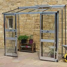 serre de jardin adossée 3 36m verre trempé broadway greenhouses