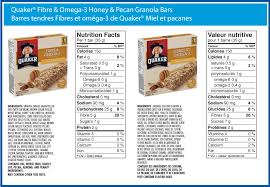 Quaker Chewy Granola Bars Calories Images