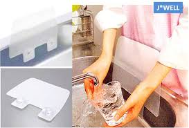 1pc new creative home dry kitchen wash basin sucker sink plastic