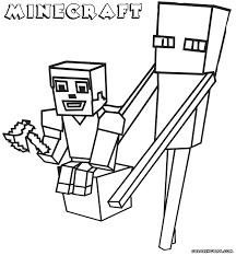Minecraft Dad And Boy Coloring Book