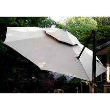 Cantilever Patio Umbrellas Sams Club by 11 Ft Cantilever Umbrella Replacement Canopy Garden Winds