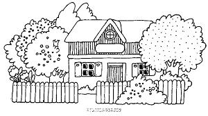 coloriage maison ou ferme ou auberge gratuit animaux