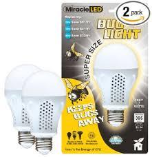miracle led 604734 7 watt bug light bug free porch and