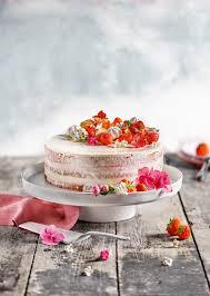 semi erdbeer mascarpone torte