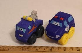 TONKA WHEEL PALS Mini Blue Tow Truck 2