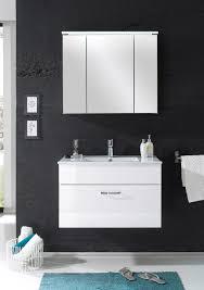 details zu badmöbel splash 2 tlg badezimmer set badmöbel badezimmermöbel in weiß abs weiß