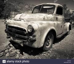 100 Vintage Dodge Trucks A Vintage Old Truck Abandoned In The Desert Of Nevada Stock