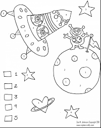Fantastic Space Color With Coloring Pages And Free Printable