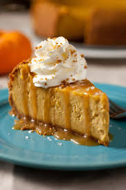 Libbys Pumpkin Pie Recipe Uk by Pumpkin Cheesecake With Salted Caramel Sauce Cooking Classy