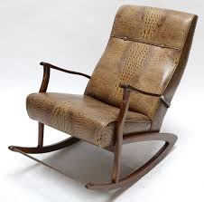 1960s Brazilian Rocking Chair In Crocodile Embossed Leather Style Selections Wood Rocking Chairs With Slat Seat At Lowescom Jack Post Oak Childrens Patio Rocker Norwegian Chair Chesspatterns 194050s By Per Aaslid Norway For Nursery Parc Rocking Chair 11468 S001 Rocking Chair Black S Bent Bros Antiques Board Outdoor Interiors Resin Wicker And Eucalyptus Brown Grey Seattle Mandaue Foam Song