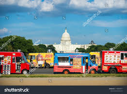 100 Food Trucks In Dc Today Washington August 2018 Stock Photo Edit Now