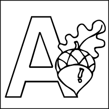 The Letter A Coloring Pages Printable 13 Charming Design Free Alphabet Letters Gianfreda Imagejpg