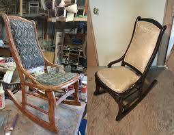 Rocking Chair - Sandra Dees Grandpas Rocking Chair Brightened Up For New Baby Nursery Future Restoration Pictures Rahns Fniture Sold Arts And Crafts Childs Refinished The Frosted Gardner West Custom Cartoon Of Chairs The Adventures Mrs Comfortable Rocking Chairs Stock Image Image Of 1970s Vintage Thonet Feigleys Repair Refishing Shop Home Facebook How To Refinish A With Stain Stencils Wingback Spring Chair Refinished New Cushions Made Upholstered Redo Prodigal Pieces Heirloom Hour 1 Moms Wooden In