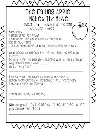 The Runaway Pumpkin Worksheet by First Grade Wow Falling For Force And Motion Apple Style