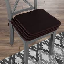 Chair Cushions Set Of 4 Square Foam 16Ax 16A Pads With