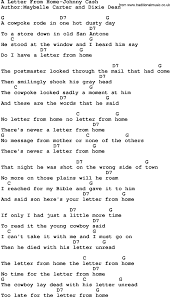John Michael Montgomery Letters From Home Lyrics