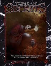 V20 Dark Ages Tome Of Secrets By The Abyss Gazes Back