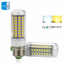 220v 240v high brightness led bulb e27 smd5730 led corn light
