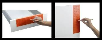 Cabinet Hardware Placement Template by Using An Ikea Fixa Drill Template To Install Handles