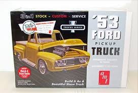1953 Ford Pickup Truck New Plastic Model Kit AMT 882 1/25 | Shore ...
